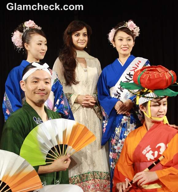 Dia Mirza Does Her Bit to Maintain Indo-Japan Diplomatic Relations