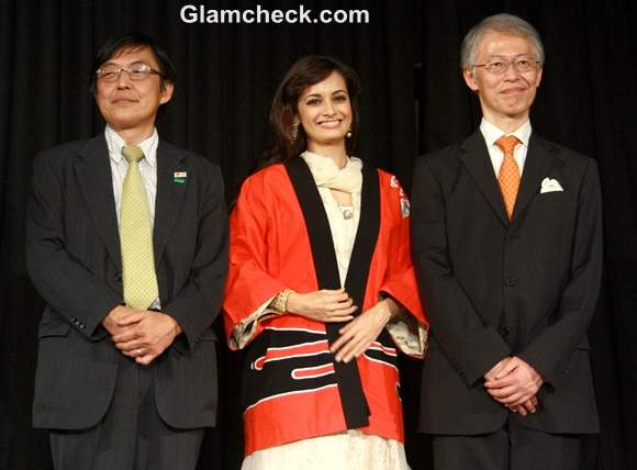 Dia Mirza Maintains Indo-Japan Diplomatic Relations