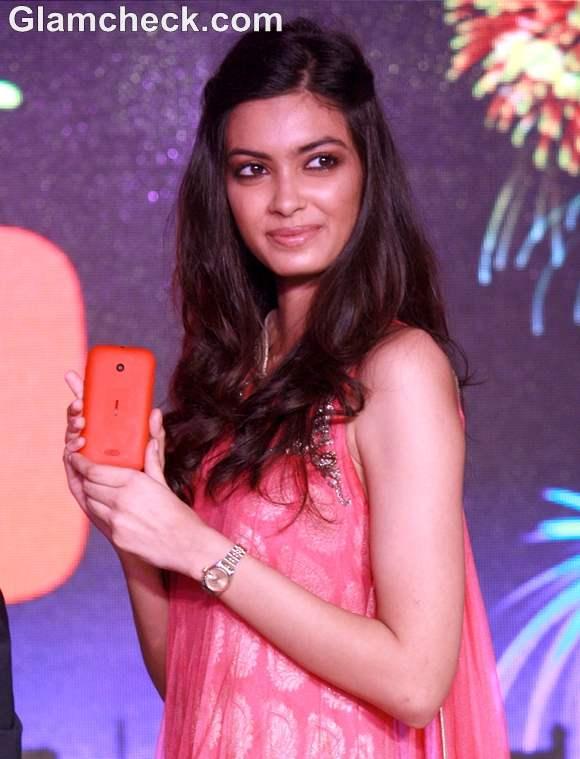 Diana Penty Launch Nokia Lumia 510 Delhi