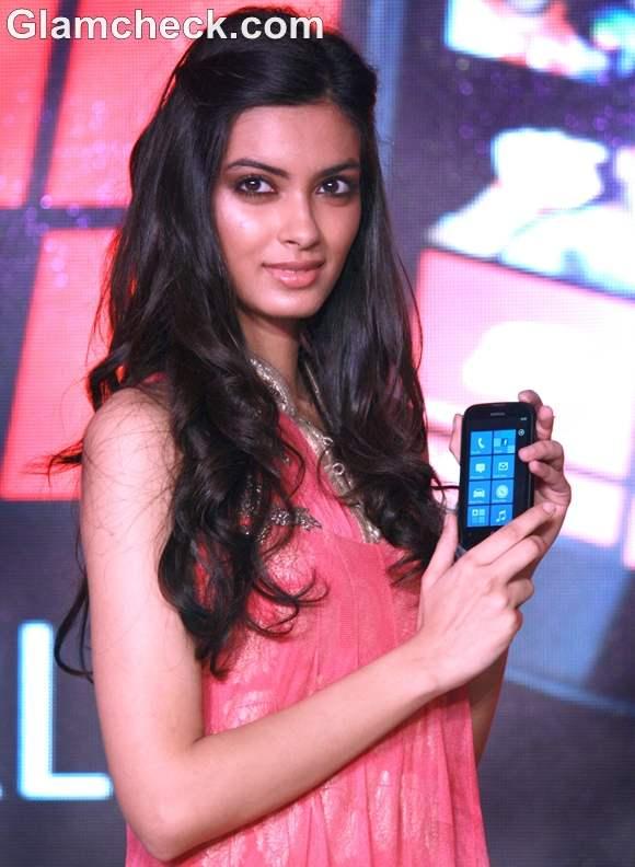 Diana Penty  Nokia Lumia 510 launch
