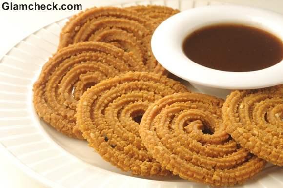 Diwali Snacks Indian chakli