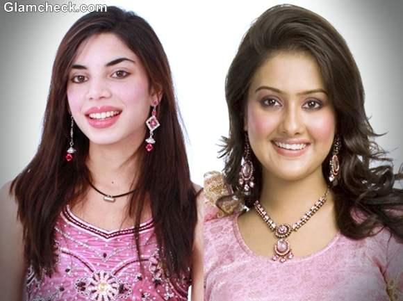 Diwali makeup hairstyle lehenga 2012