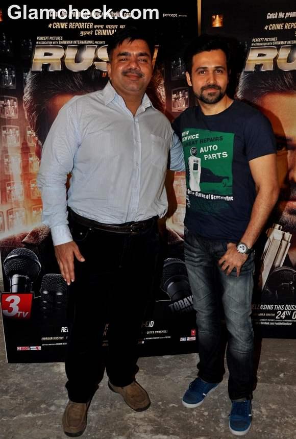 Emraan Hashmi Press Meet Film RUSH