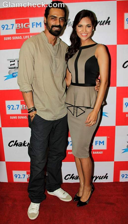 Esha Gupta arjun rampal Chakravyuh music launch