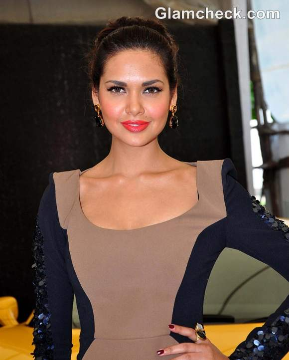 Esha Gupta at national geography channel Supercars launch