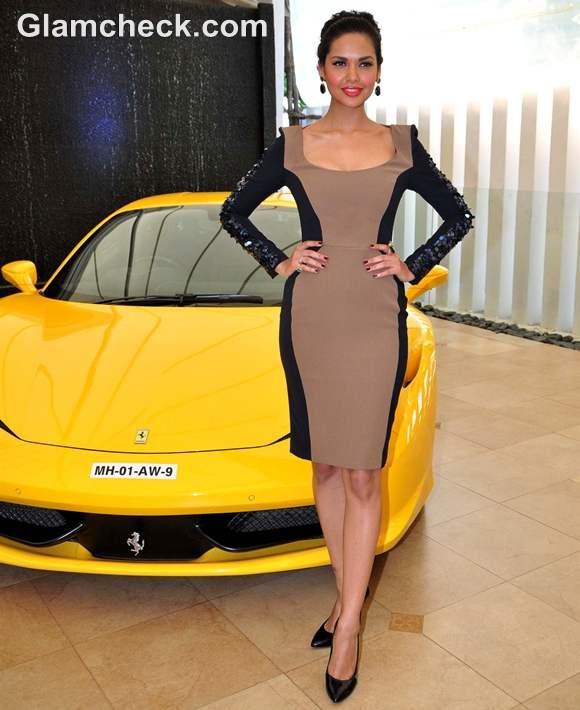 Esha Gupta national geography channel Supercars launch
