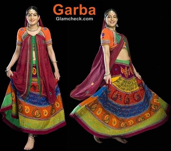 Garba traditional clothes Navratri women