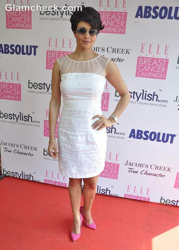 Gul Panag for Breast Cancer Campaign