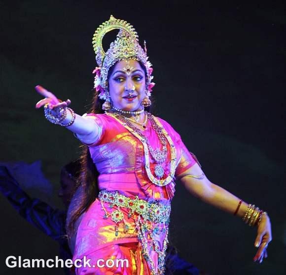 Hema Malini Performs the Nritya Natika at Ramlila
