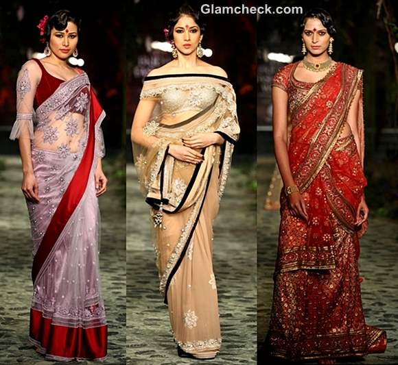 How to dress traditional women durga puja navratri