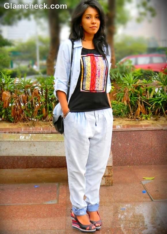 How to wear denim on denim style
