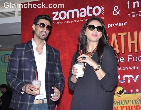 Huma Qureshi Kunal Kapoor Film Luv Shuv Tey Chicken Khurana