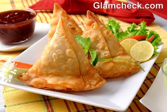 Indian Snacks samosa Diwali