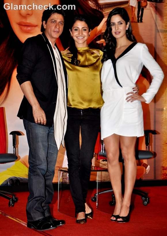 Jab Tak Hai Jaan Press Conference Shah Rukh Katrina Anushka