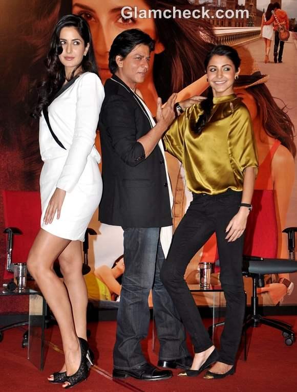 Jab Tak Hai Jaan Press Conference Shah Rukh Katrina kaif Anushka