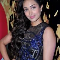 Jiah Khan hairstyle Elle Beauty Awards 2012