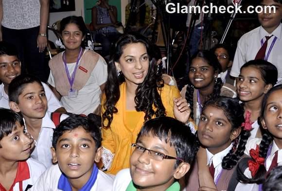 Juhi Chawla Indo-Pak Students Exchange Program