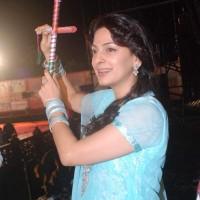Juhi Chawla Main Krishna Hoon Falguni Pathak Dandiya