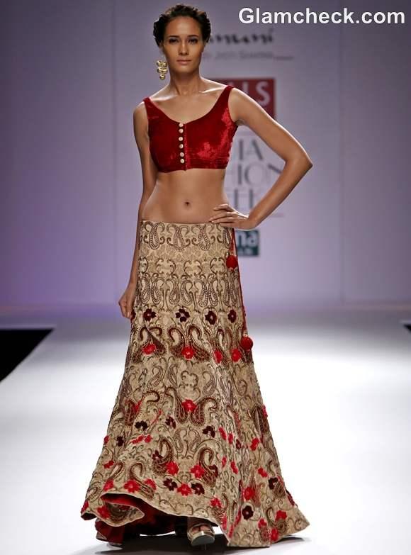 Jyoti Sharma Bhanuni nRPSUTA collection WIFW S-S 2013