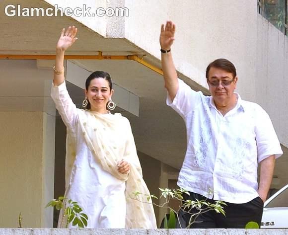 Karisma kapoor at Saif-Kareena Wedding Court Marriage