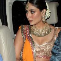 Kareena Kapoor sangeet ceremony lehenga picture