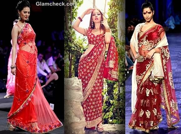 Karva Chauth Fashion saree 2012