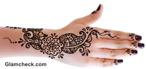 Karva Chauth mehndi designs arabic