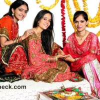 Karva Chauth mehndi designs traditional ritual