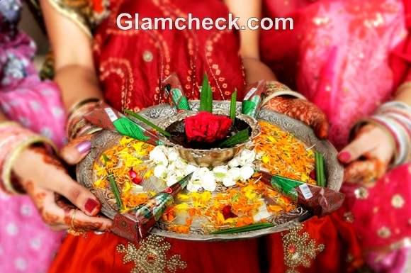 Karva Chauth mehndi traditional ritual indian women