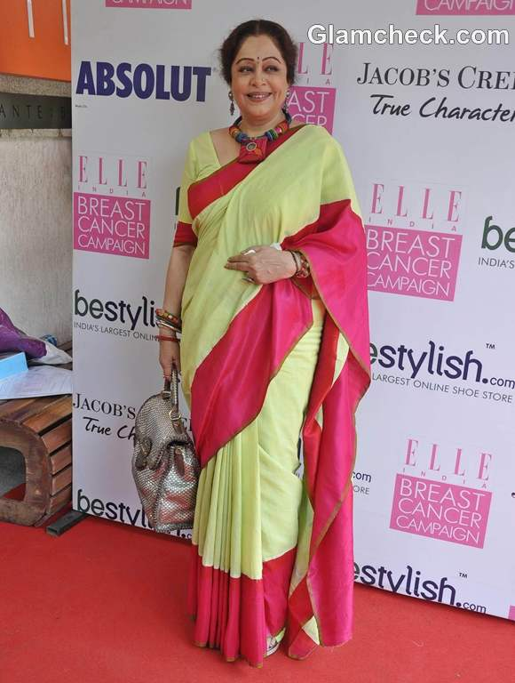 Kirron Kher for Breast Cancer Campaign