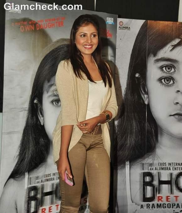 Madhu Shalini at film BHOOT Returns press conference