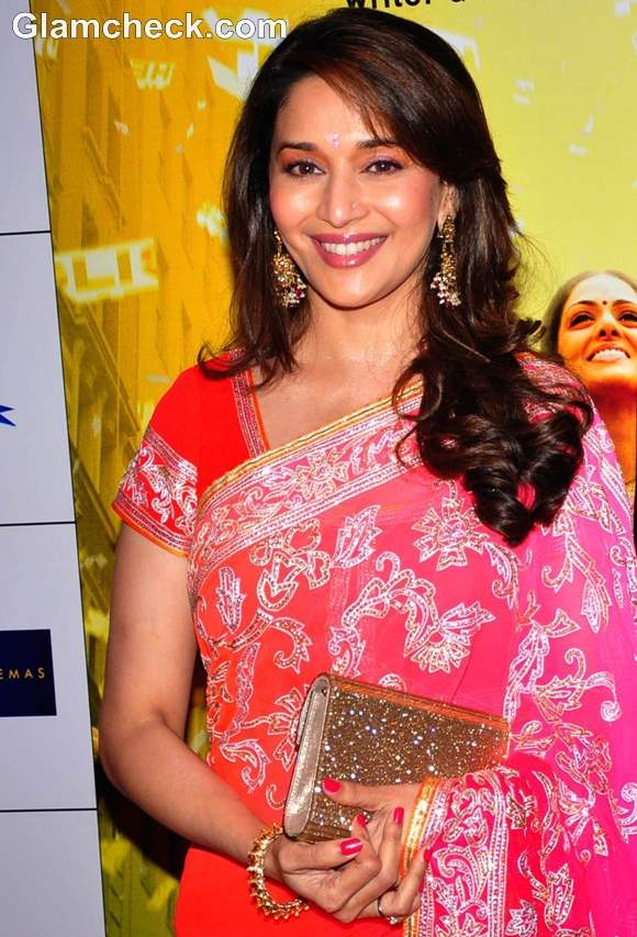 Madhuri Dixit At The Premiere Of English Vinglish