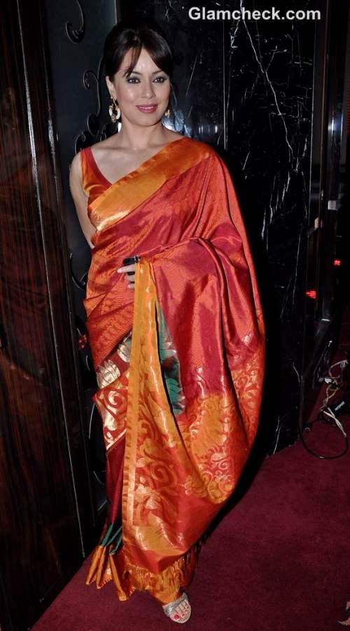 Mahima Choudhary in saree