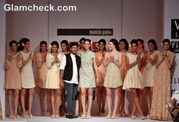 Manish Gupta Primrose on Day 3 of WIFW S-S 2013