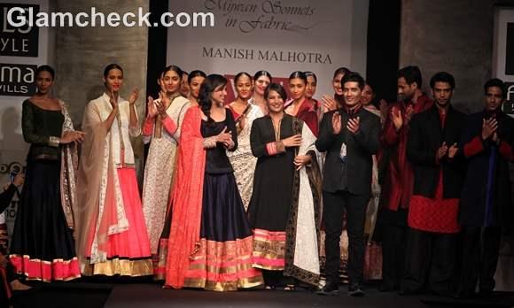 Manish Malhotra Show WIFW S-S 2013 Mijwan collection