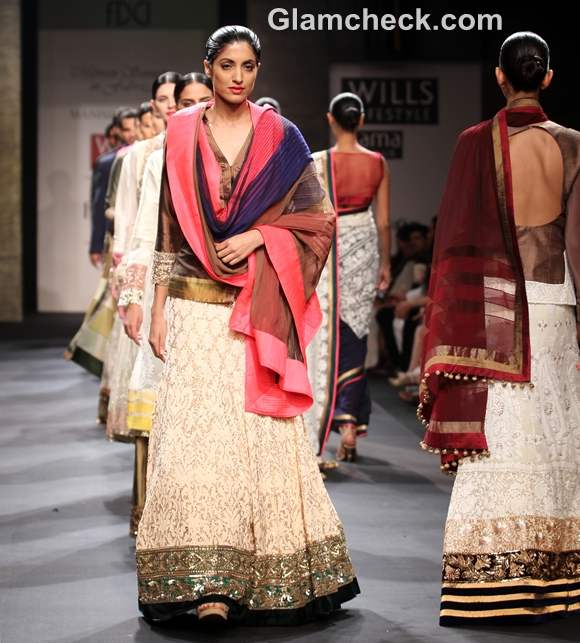 Manish Malhotra WIFW S-S 2013 Mijwan collection-3