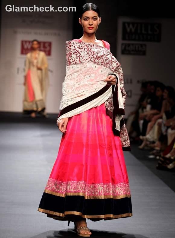 Manish Malhotra WIFW S-S 2013 Mijwan collection