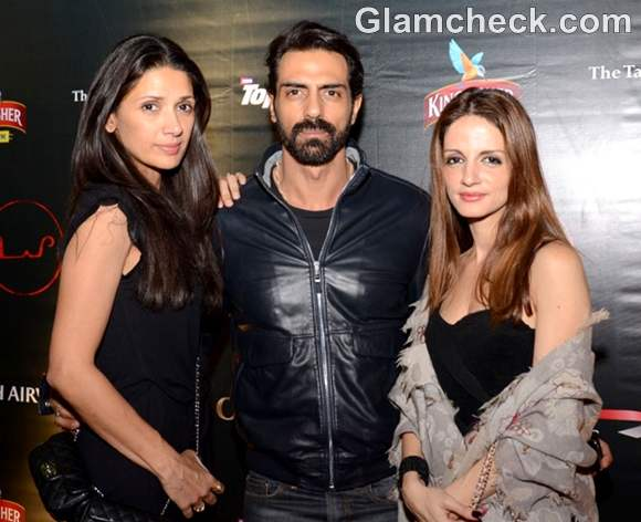 Mehr Arjun Rampal Sussanne Roshan F1 2012 official F1 After Party day 3
