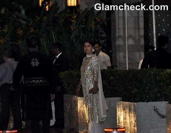 Neetu Singh  Saif Kareena Post Wedding Party Taj Mahal Hotel