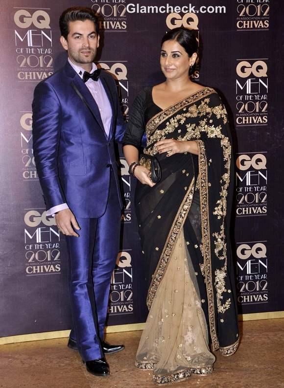 Neil Mukesh Vidya Balan GQ Men Of The Year Awards 2012