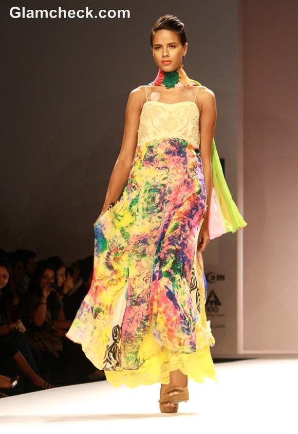 Preeti Jhawar collection WIFW S-S 2013 day 4