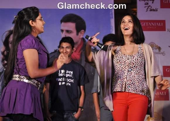 Preity Zinta Promotes Ishkq in Paris Kingdom of Dreams