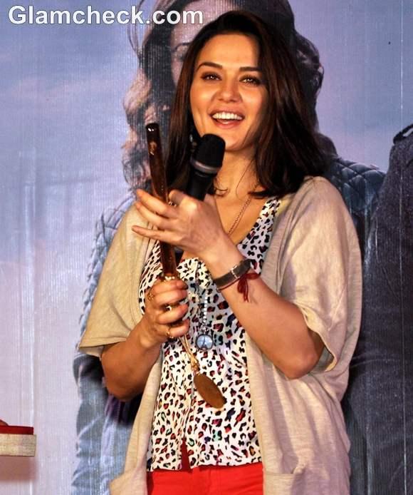 Preity Zinta Promotes Ishkq in Paris at Kingdom of Dreams
