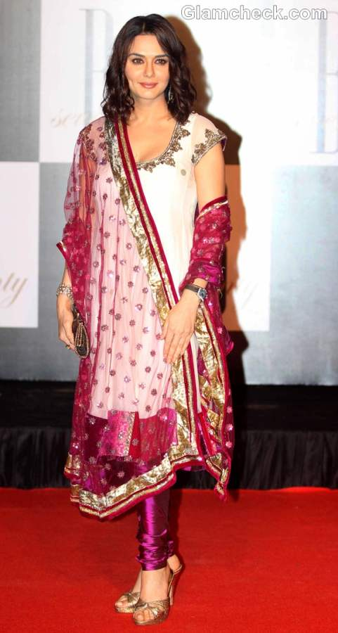 Preity Zinta at Amitabh Bachchan Bday bash