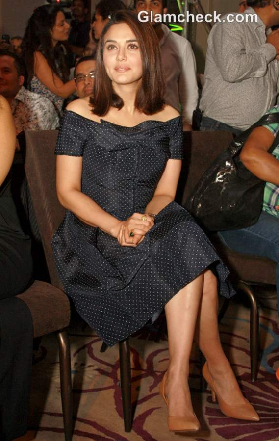 Preity zinta at Watch World Awards 2012