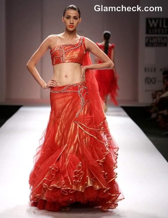 Prerna Bhardwaj Day 4 of WIFW S-S 2013 gown