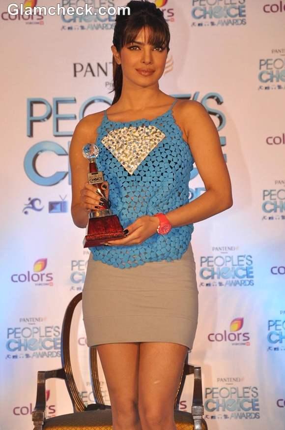 Priyanka Chopra Launches Peoples Choice Awards 2012