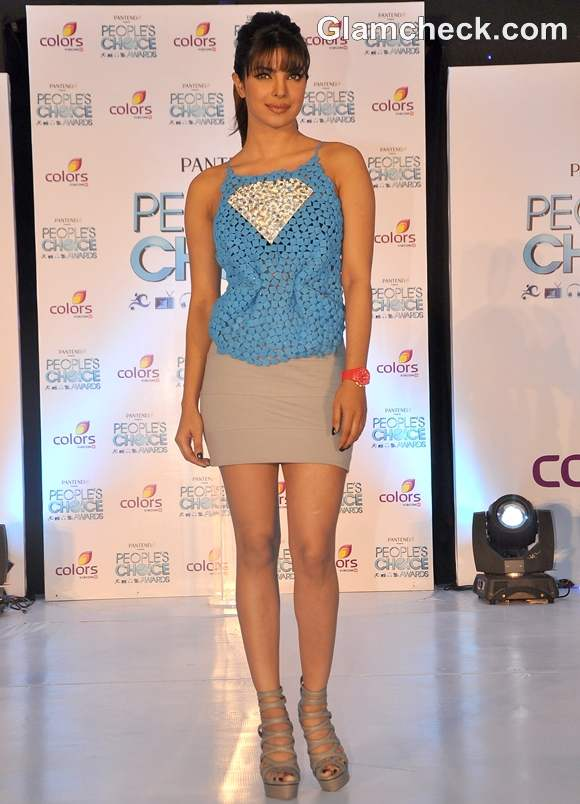 Priyanka Chopra Peoples Choice Awards 2012