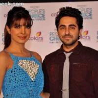 Priyanka Chopra ayushman khurana Launches Peoples Choice Awards 2012