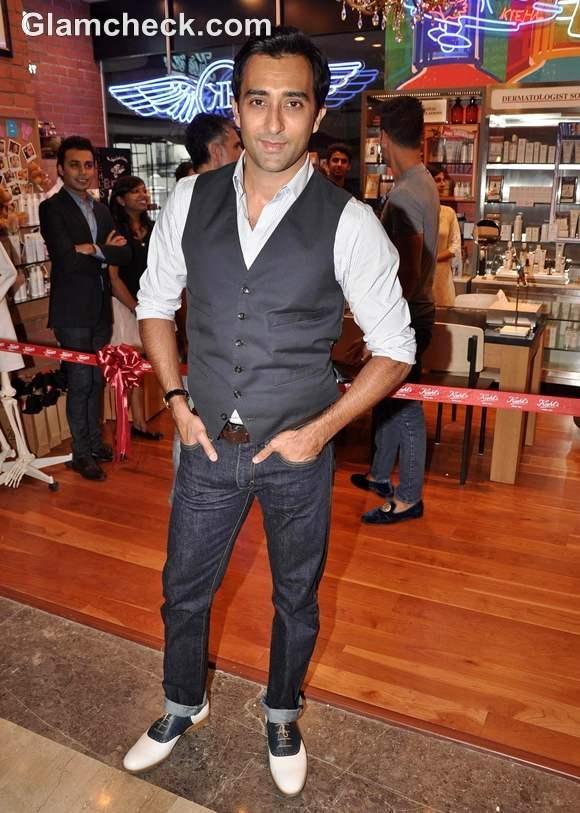 Rahul Khanna Kiehls Mumbai Launch